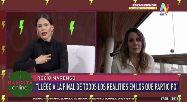 Rocío Marengo en Pampita Online