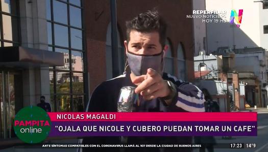 Nicolás Magaldi en Pampita Online