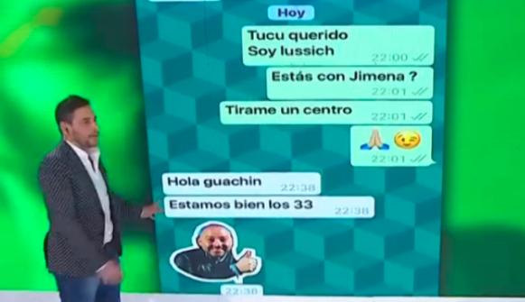 Qué dijo el Tucu López sobre el supuesto romance con Jimena Barón