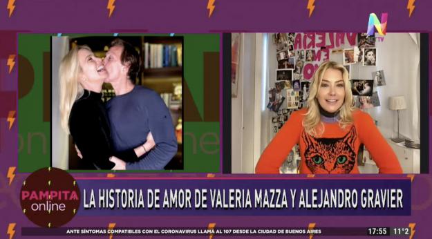 Valeria Mazza en Pampita Online