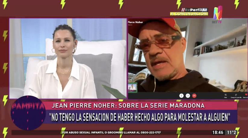 Jean Pierre Noher en Pampita Online