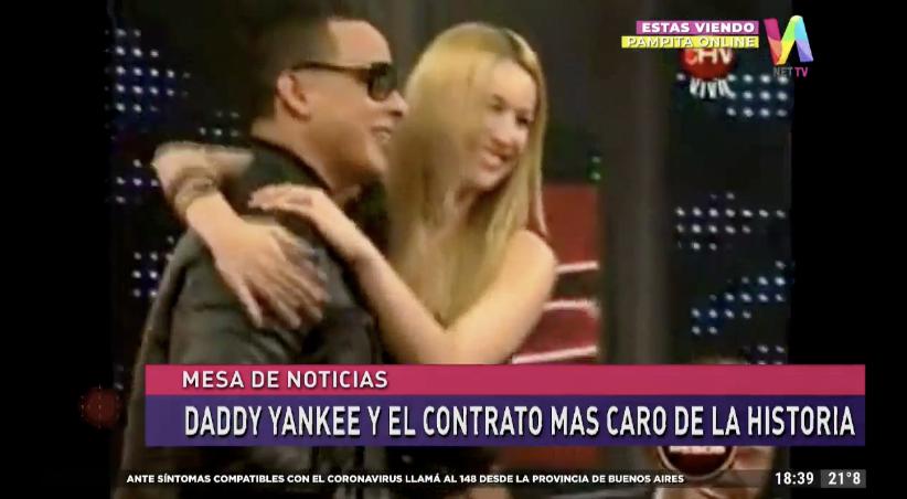 Pampita y Daddy Yankee