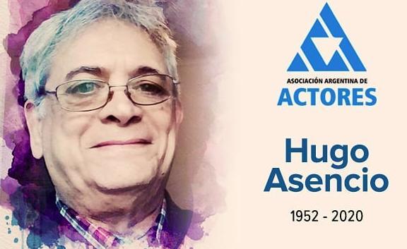 Falleció Hugo Asencio tras contagiarse de coronavirus