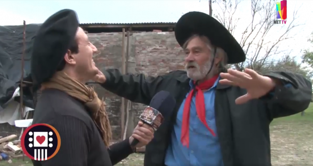 Alma Gaucha llegó a Lucas Noreste para la juntada con Don Luis Galarza