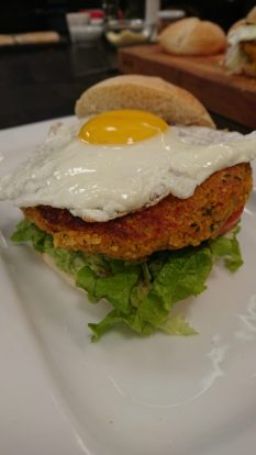 hamburguesa quinoa