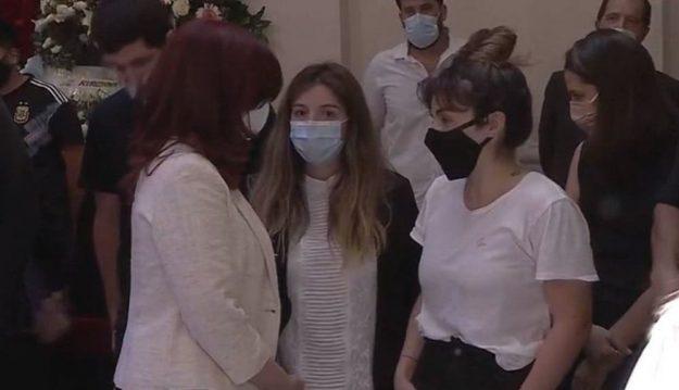 Qué pasó entre Dalma y Gianinna Maradona y Cristina Kirchner