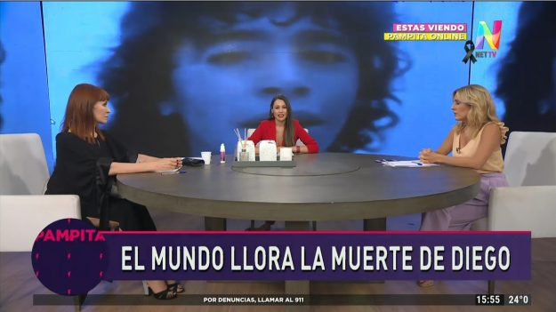 La tristeza de Pampita por la muerte de Diego Maradona