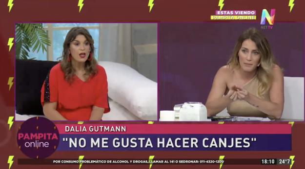 Dalia Gutmann y Mica Viciconte
