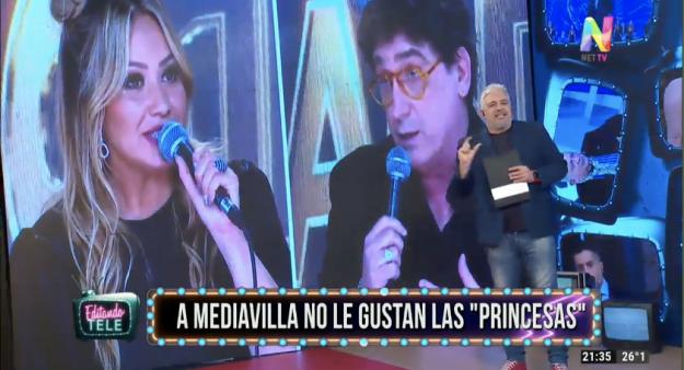 karina La Princesita y Oscar Mediavilla