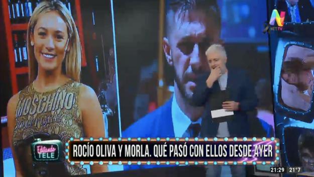 Rocío Oliva y Matías Morla