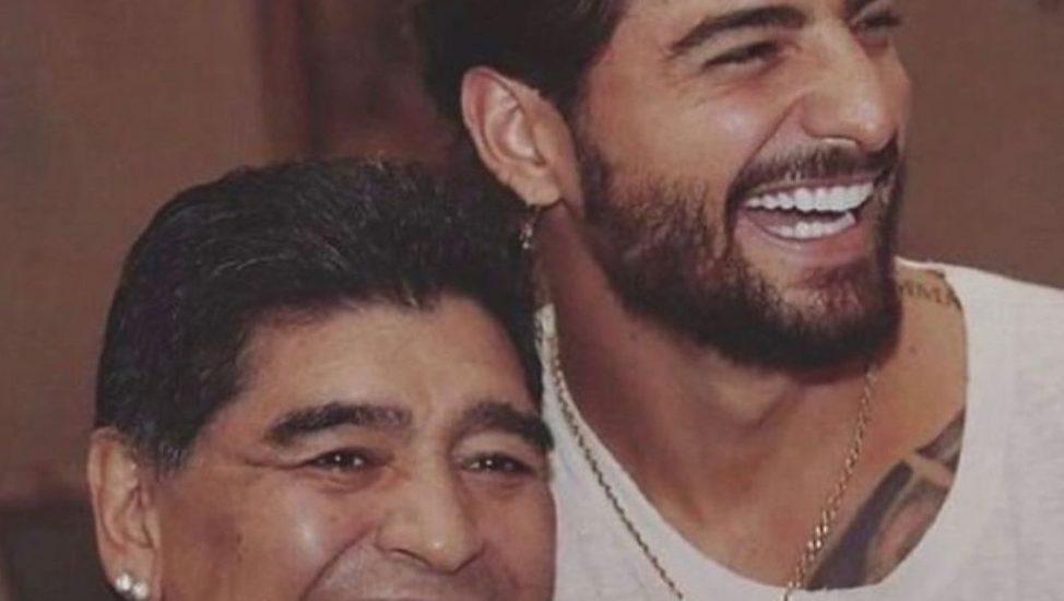 Maluma y Diego Maradona