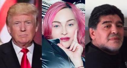 ¿Donald Trump confundió a Maradona con Madonna?
