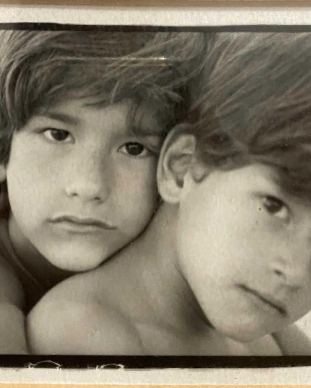 Mau y Ricky cuando eran niños