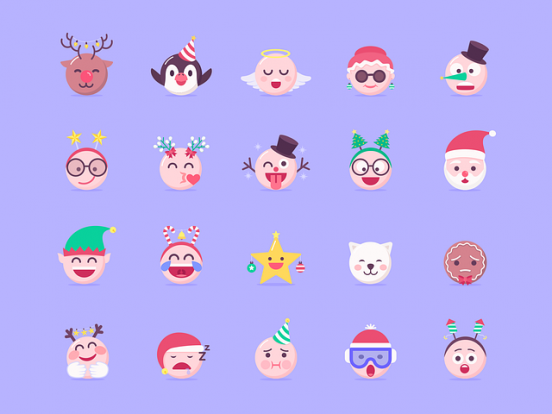 Emojis Navidad