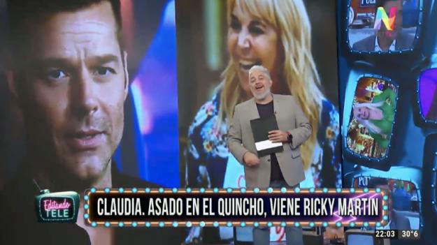 Claudia Villafañe y Ricky Martin