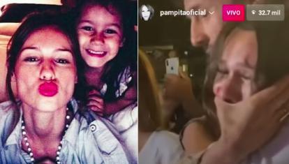 La emoción de Pampita al ver un video de Blanca tras anunciar su embarazo