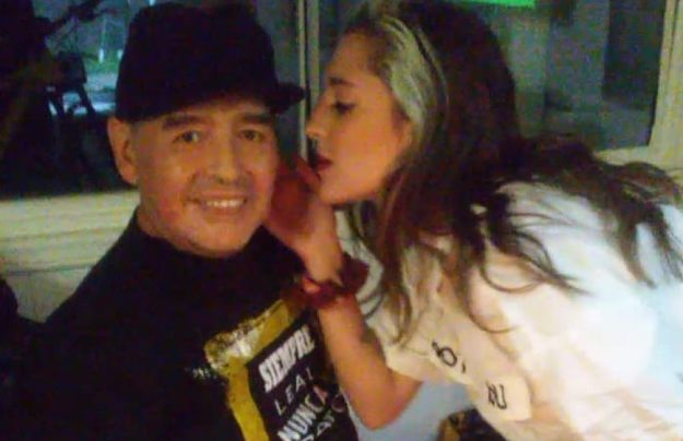 Diego Maradona y Jana