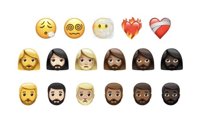 Emojis rostros