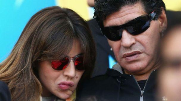 Por esta razón Gianinna Maradona quería que Diego viva con ella