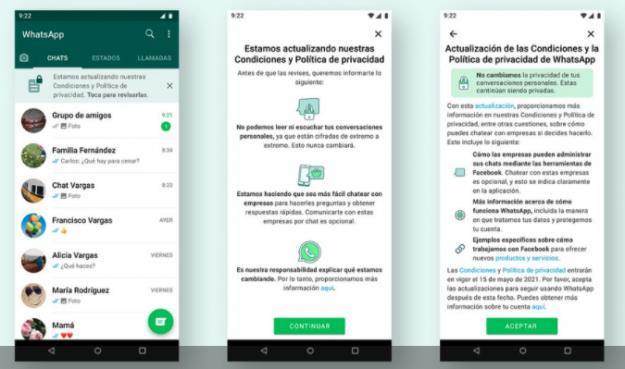 Whatsapp: Qué pasará con las cuentas que no acepten la nueva política de  privacidad