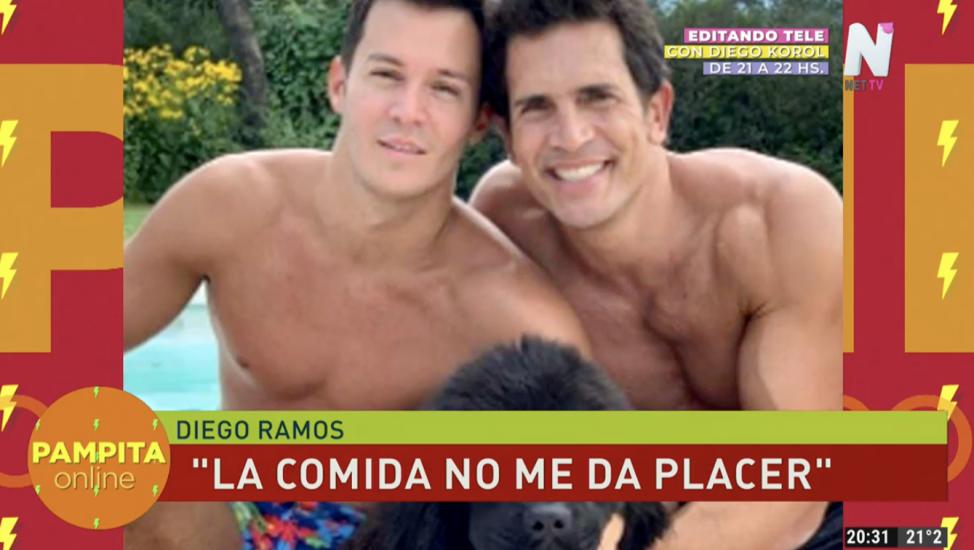 Diego ramos y su pareja