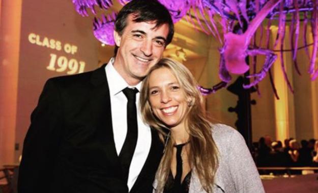 Esteban Bullrich y María Eugenia Sequeiro